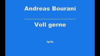 Andreas Bourani Voll gerne Mit Text