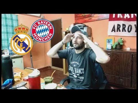 Real Madrid 2 (4) - Bayern Munich 2 (3) | Reacciones de un Hincha Argentino | Semi  Champions League