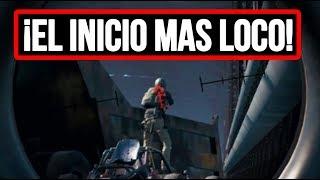 ¡EL INICIO DE PARTIDA MÁS LOCO! - PLAYERUNKNOWN