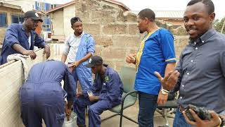 #InnovativeVolunteerism have inspired #youth into #cleanenergy solutions like briquettes in #Ghana,