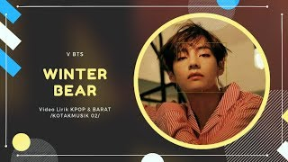 V BTS - 'WINTER BEAR' Easy Lyrics (SUB INDO)