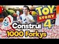 Construí 1000 FORKYS de Toy Story 4 !! / Memo APONTE