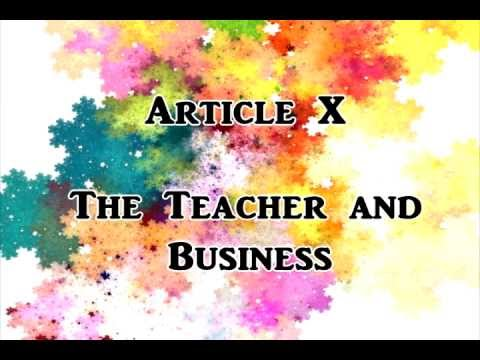 What Is Code Of Ethics For Professional Teachers