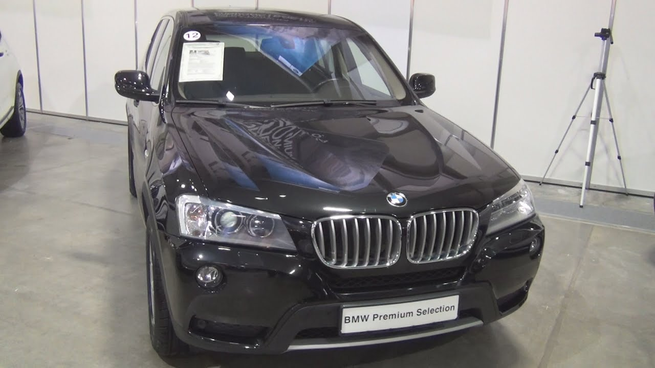 bmw x3 xdrive 30d xline 2012 exterior and interior in 3d youtube. Black Bedroom Furniture Sets. Home Design Ideas