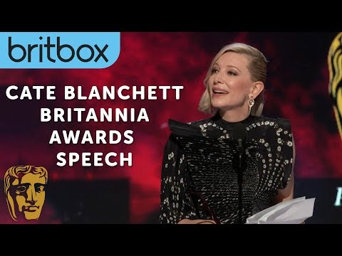 "Cate Blanchett's Honorary Tribute to the ""Cunning"" Stanley Kubrick  Britannia Awards  BritBox"