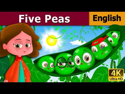 Five Peas In A Pod in English | Story | English Fairy Tales