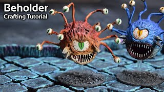 How to Craft a Beholder from a Ping Pong Ball for Dungeons and Dragons, Pathfinder, etc. (WCV 126)