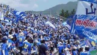 2012/5/20 FC岐阜戦 試合前練習のピッチ入り時に撮影.