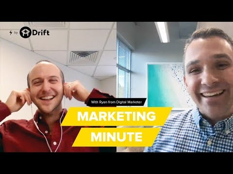 An interview with Digital Marketer CEO, Ryan Deiss | Marketing Minute