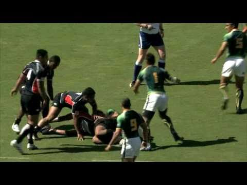 Cecil Afrika magic at Adelaide Sevens 2011