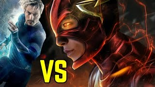 DC The Flash vs Marvel Quicksilver | Battle of the Speedsters
