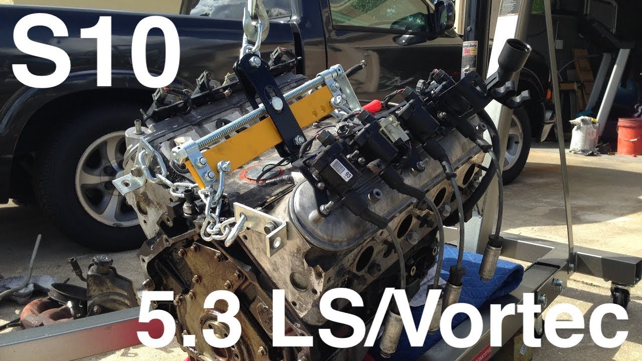 S10 Ls V8 Swap Part 3 Notching The Frame Youtube