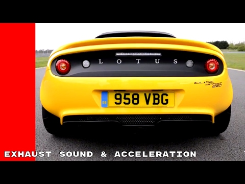 2017 Lotus Elise Sport 220 and Sprint 220 Exhaust Sound, Launch, & Acceleration
