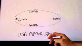 USA Culture: Sport Seasons