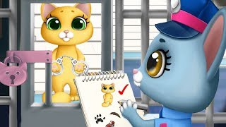 Kitty Meow Meow City Heroes - Let's Rescue The Cute Animals - Fun Games For Girls By Tutotoons