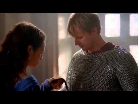 Merlin 5x08 'The Hollow Queen' - Arthur/Gwen Scenes