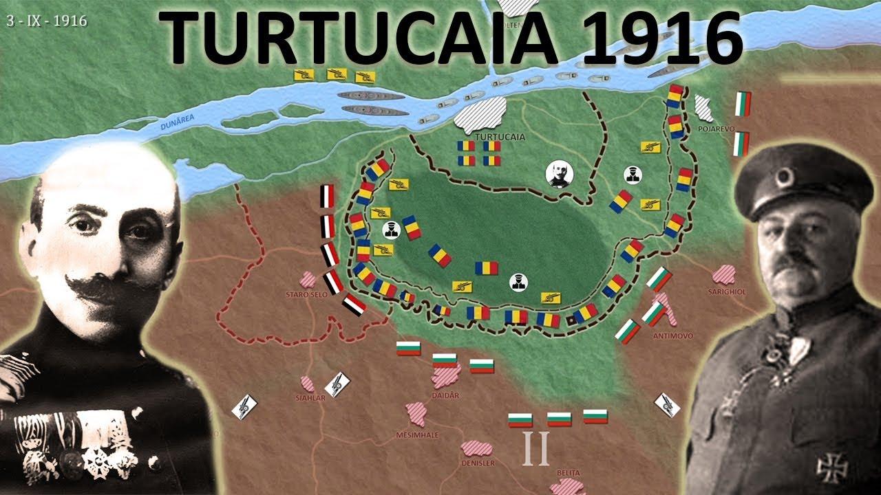Bătălia de la Turtucaia 1-6 septembrie 1916 (România în Primul război mondial)