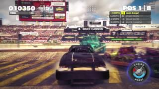 Dirt Showdown: LA Knockout Gameplay