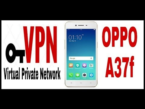 How to use VPN in OPPO (A37) without an application