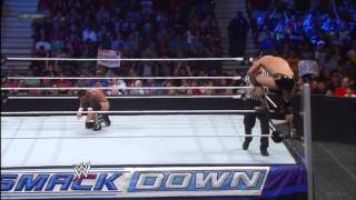 CM Punk vs Alberto Del Rio continues WWE App Exclusive June 5,2013