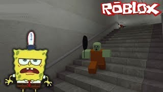 SpongeBob in the Roblox-I TURNED a ZOMBIE into the ZOMBIE RUSH!