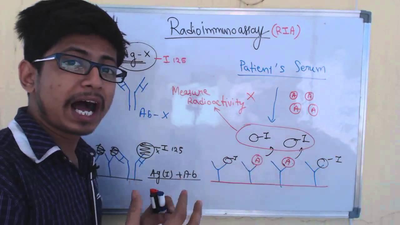 Radioimmunoassay Technique Ria Youtube