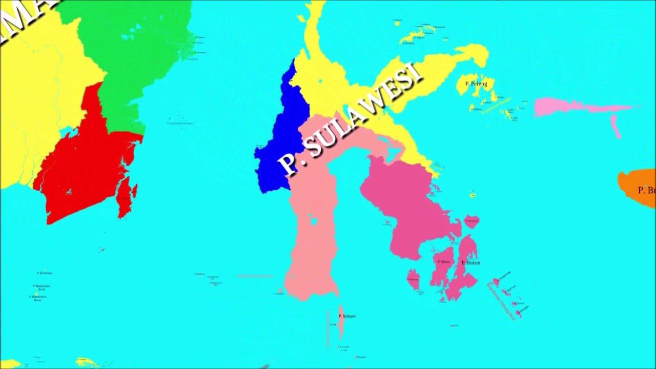 Peta Indonesia Bandara Internasional Di Indonesia Youtube