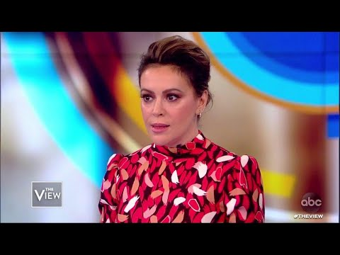 Alyssa Milano On Why She's Telling 25 Year Old #MeToo Story | The View
