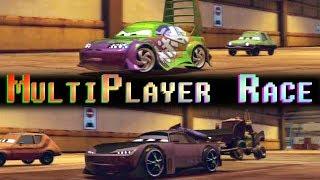 Cars 2 Nice Race 2 Player Wingo Vs Boost On Pipeline Sprint Multiplayer Split Screen