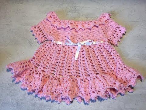 Tuto Robe Tout âge Au Crochet