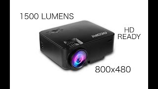 HD Ready Mini Projector - Play PS4, Watch Movies on 176 inch HD Screen