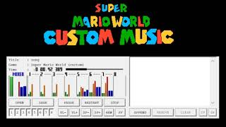 [SMW Custom Music] Super Mario Kart - Rainbow Road