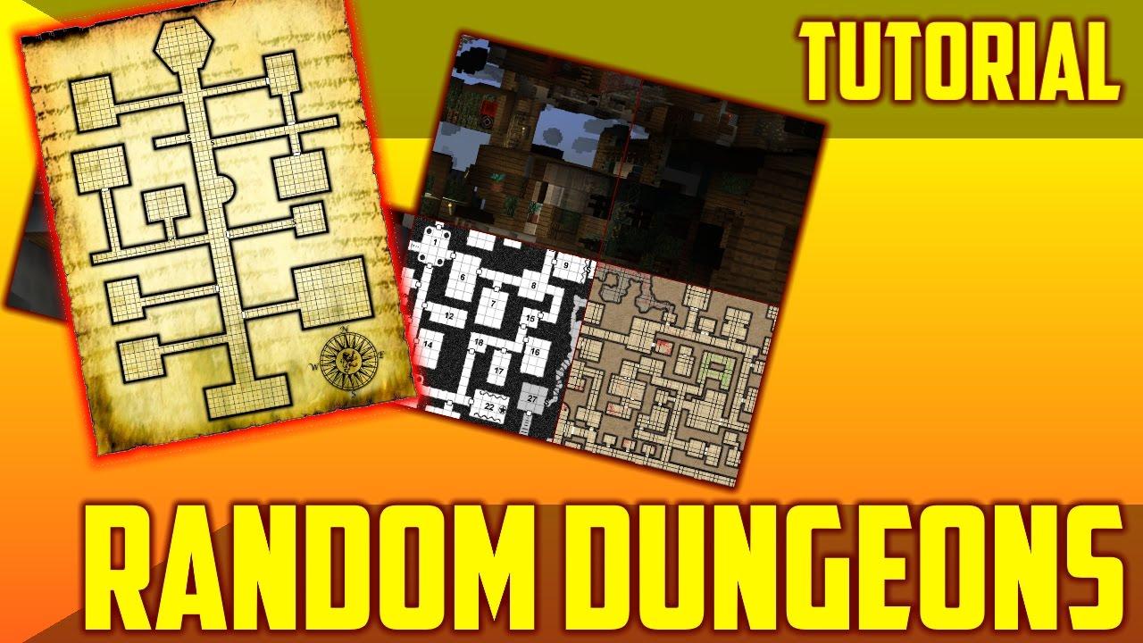 Easy Random Dungeons Method in Minecraft 1 11 & 1 12 - Command Block  Tutorial
