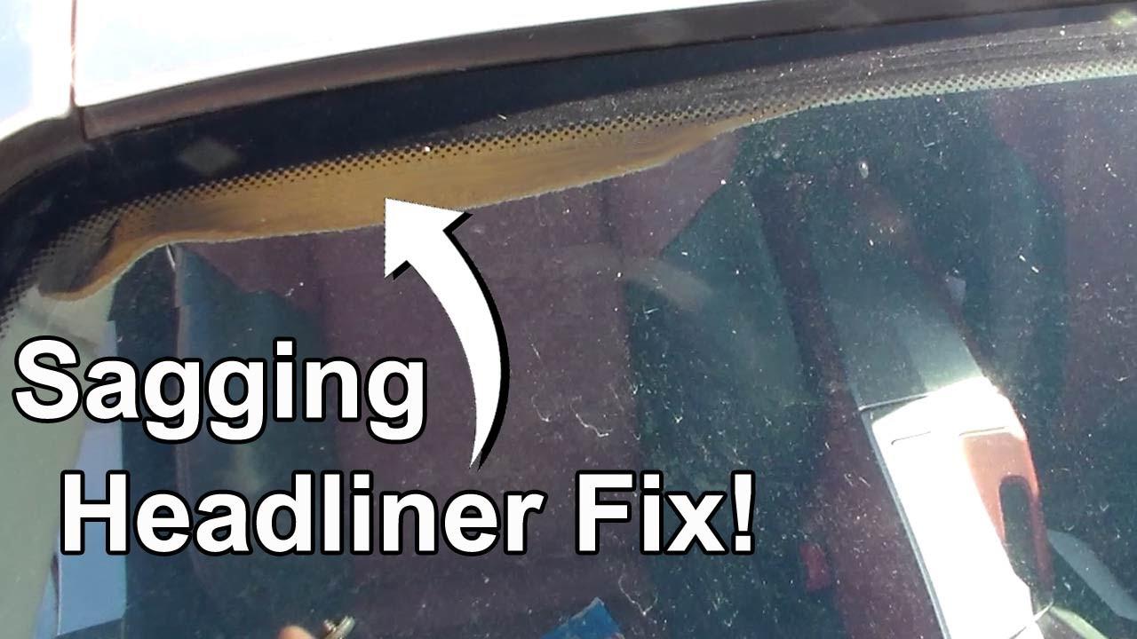 How To Fix Car Interior Roof Fabric Psoriasisguru Com