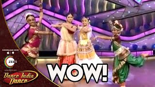 This is why Indian Classical is the BEST Dance Form Ever - DID Girls MINDBOGGLING Performance