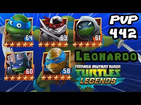 TMNT Legends PVP 442 (Leonardo Classic / Original / Vision / LARP / The Movie)