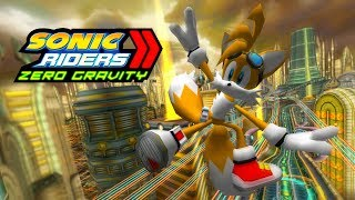 Sonic Riders Zero Gravity - Megalo Station - Tails 4K 60 FPS