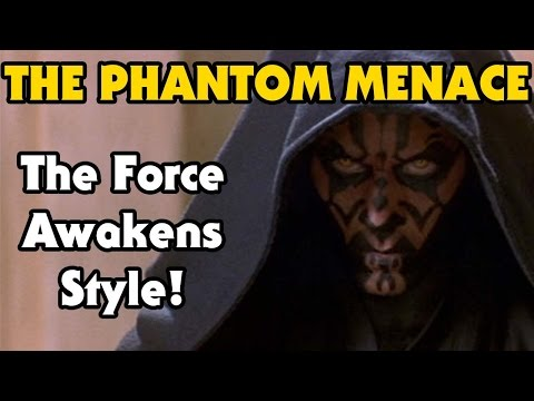 I made a Phantom Menace trailer in the style of the Force Awakens! What do you think?