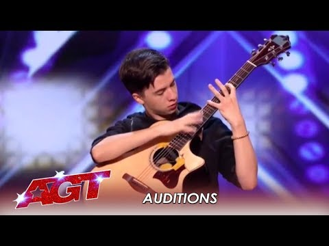 Marcin Patrzalek: Polish Guitarist MURDERS His Guitar! WOW!   America's Got Talent 2019