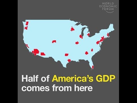 Half of America's GDP comes from here