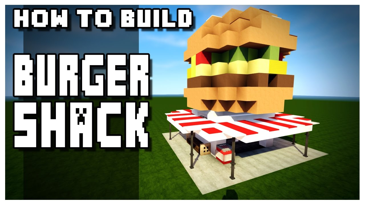 How to Build a Burger Shack in Minecraft