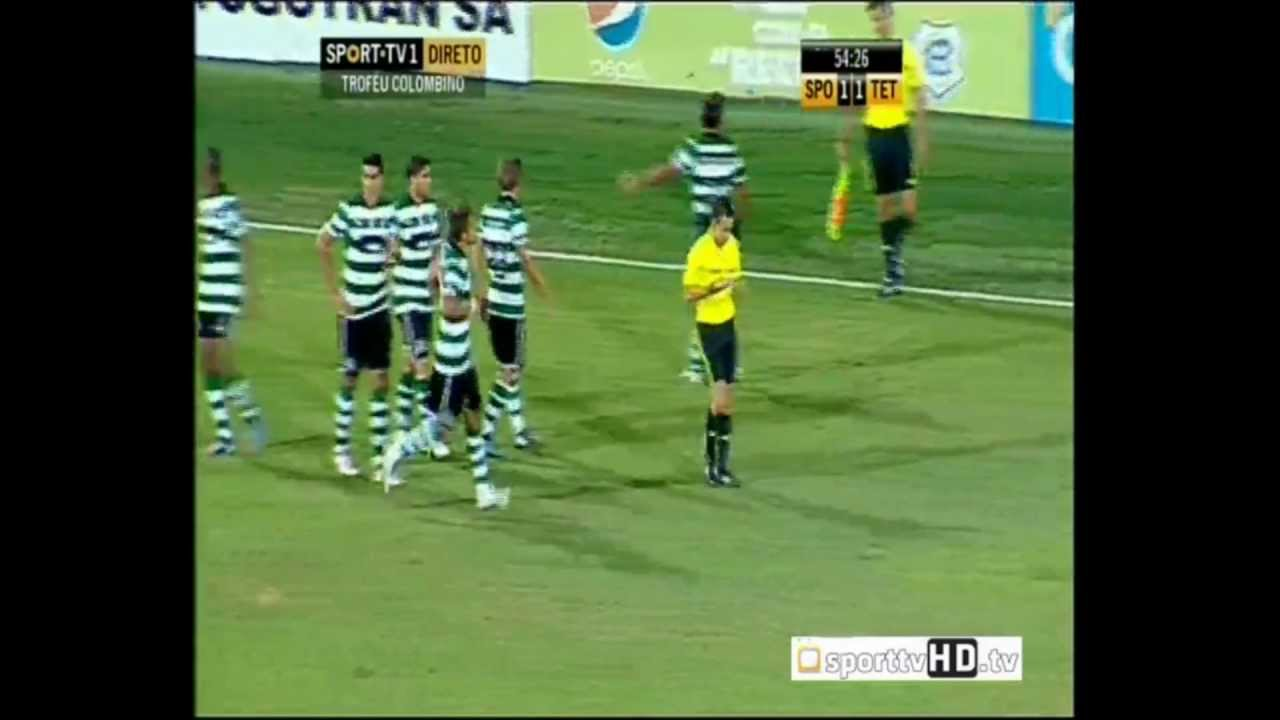 Sporting - 3 x Athletic Tetouan - 1 de 2012/2013 Particular
