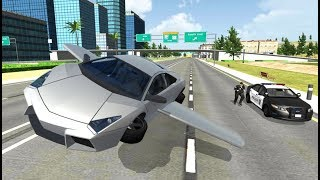 Flying Car City 3D - Android Gameplay FHD screenshot 2
