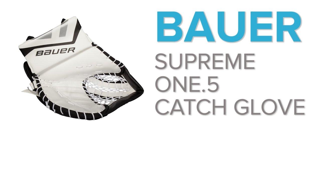 Bauer supreme hockey logo