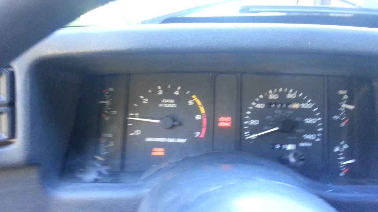 small resolution of 90 93 instrument cluster in 87 89 fox body
