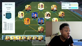 190 GLITCH!!!! FIFA 16 - THE FUT DRAFT 190 BATTLE!!