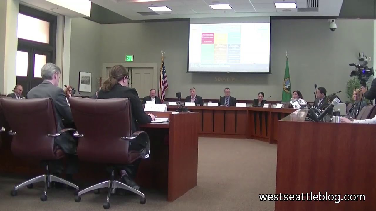 Elected Leadership Group discusses West Seattle/Ballard light-rail  recommendations