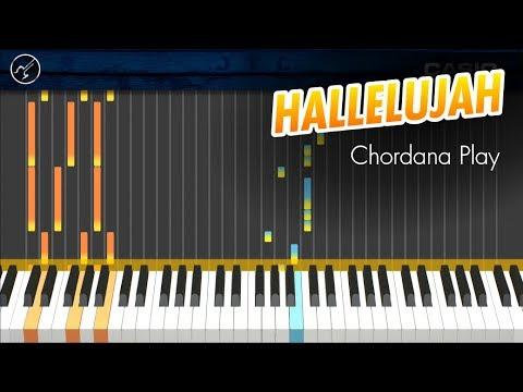 Hallelujah FÁCIL Piano Tutorial   Chordana Play   MIDI ...