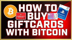 How To Buy Gift Cards With Bitcoin [3 EASIEST WAYS] (2020)