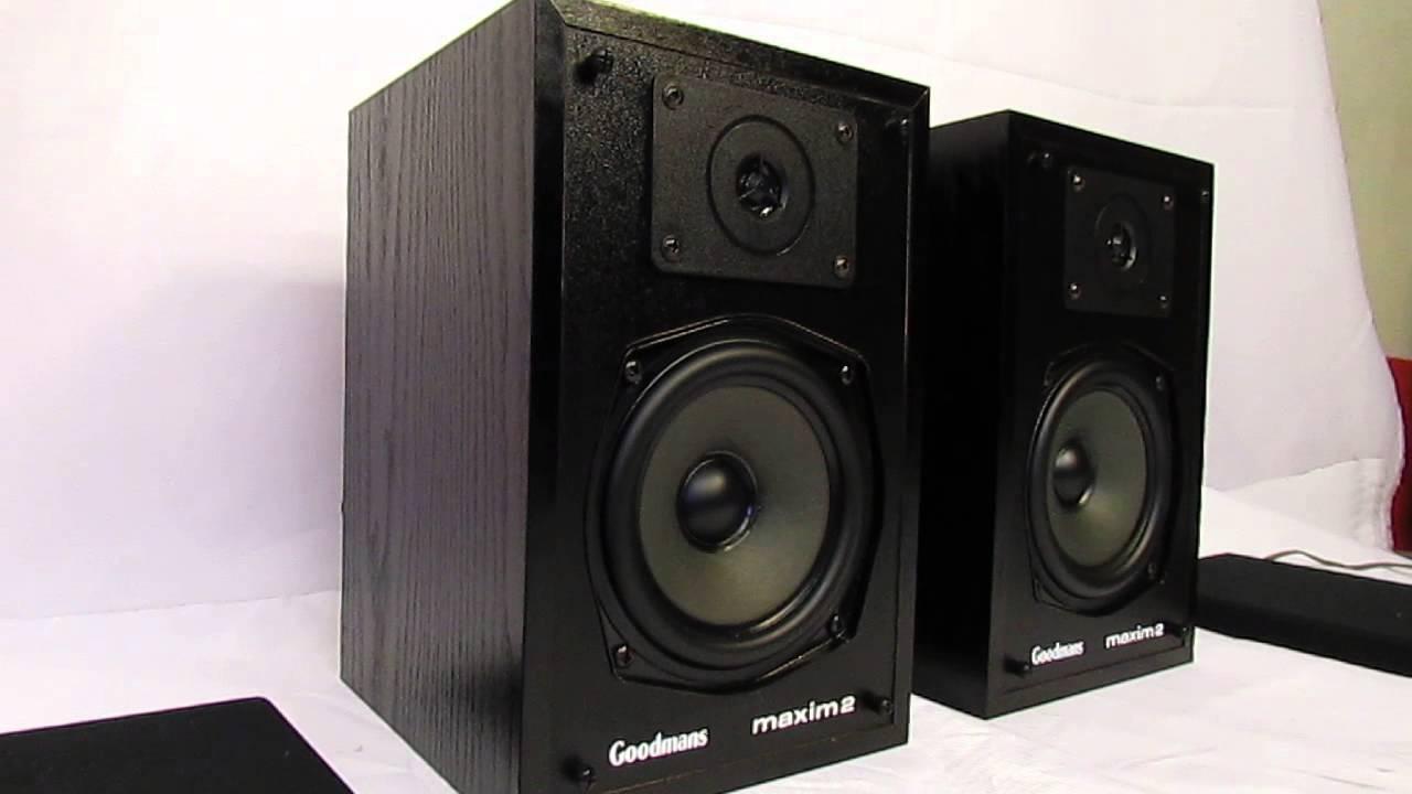GOODMANS Maxim 2 Speakers